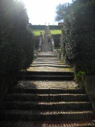 Giardino Bardini - the baroque stairs