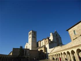 Assisi - Basilica of Saint Francis, one of the main sights in Umbria, with the famous frescoes by Giotto