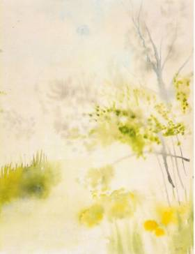 "Watercolor ""Breeze"" - Wolfgang Sandt"