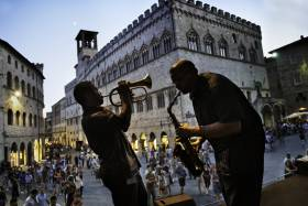 Umbria Jazz Festival Perugia. Photo: Steve McCurry