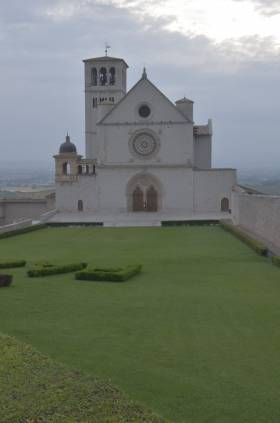 Assisi, the spiritual capitol of Umbria