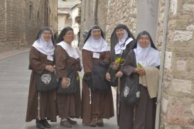 Assisi is - after Rome  - the most important pilgrims' destination in Italy