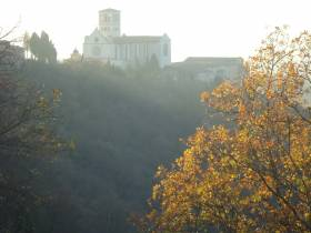 A winter afternoon in Assisi